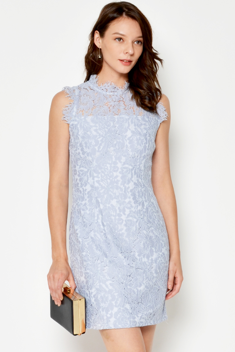 CELIA LACE SHEATH DRESS