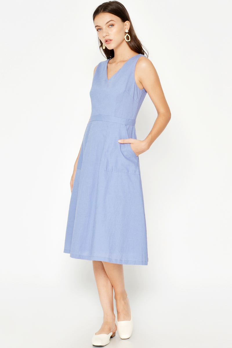 PIVONIA POCKET DRESS