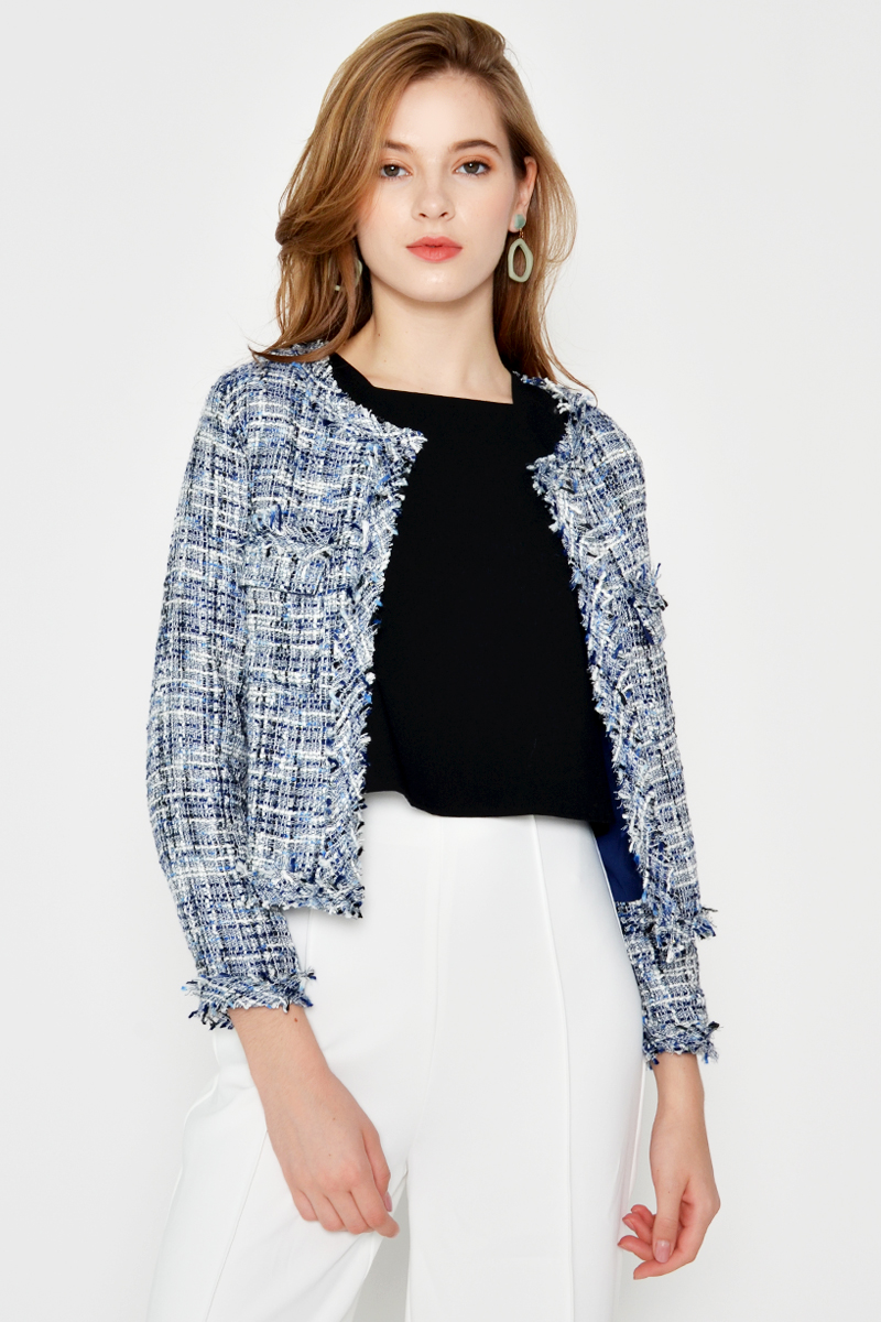 *BACKORDER* GABRIELLE TWEED JACKET