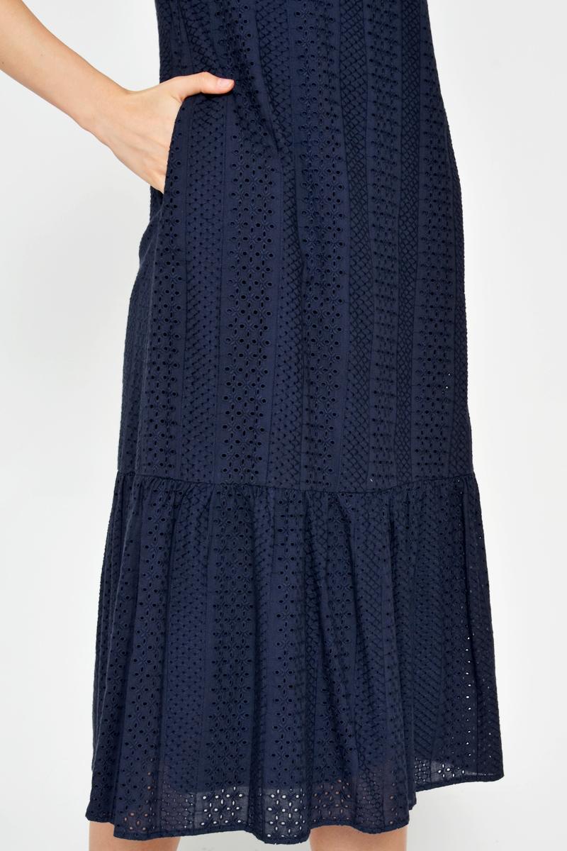 CAIRO EYELET DROPWAIST DRESS