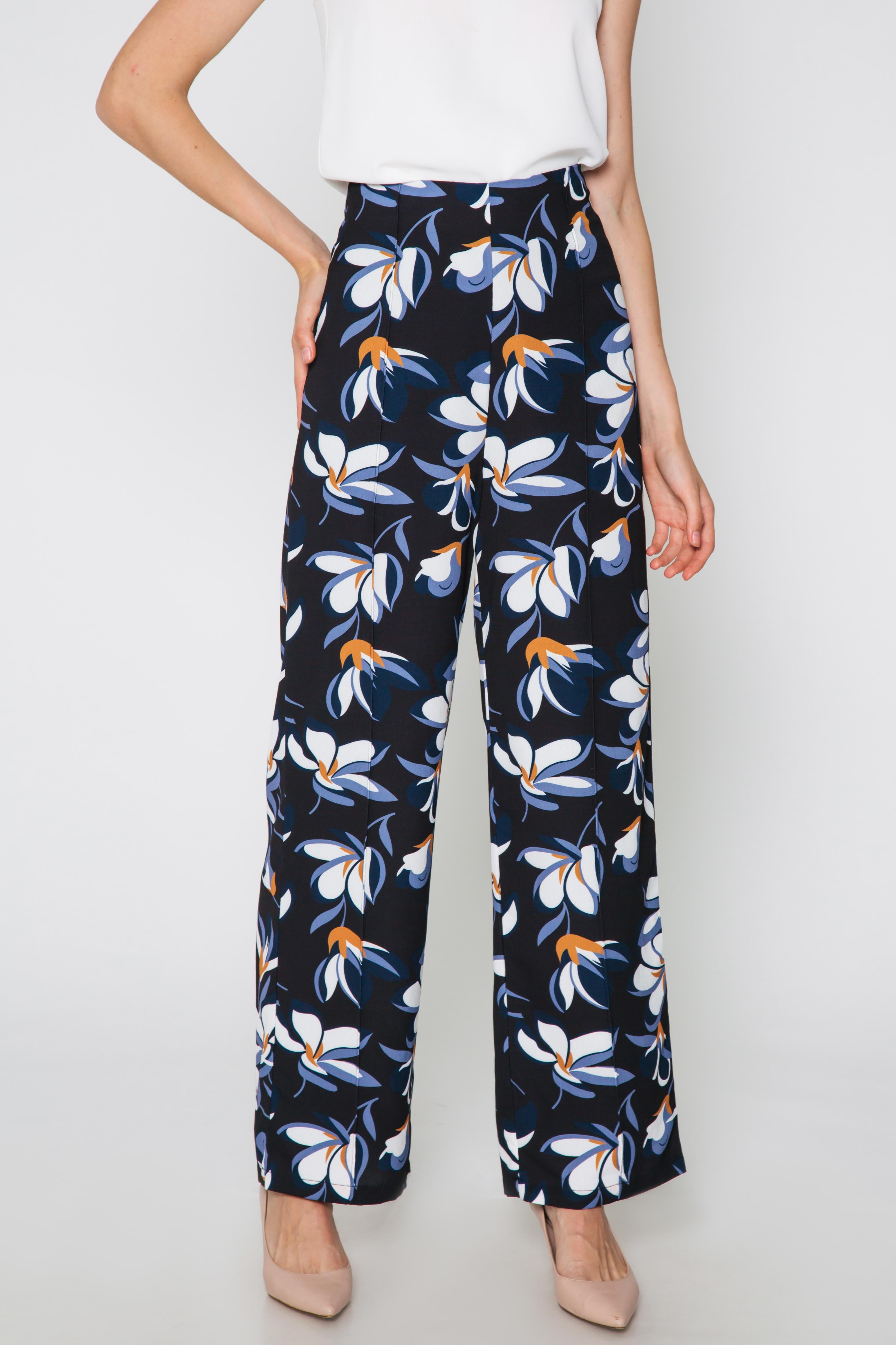 EMMA FLORAL FLARE PANTS