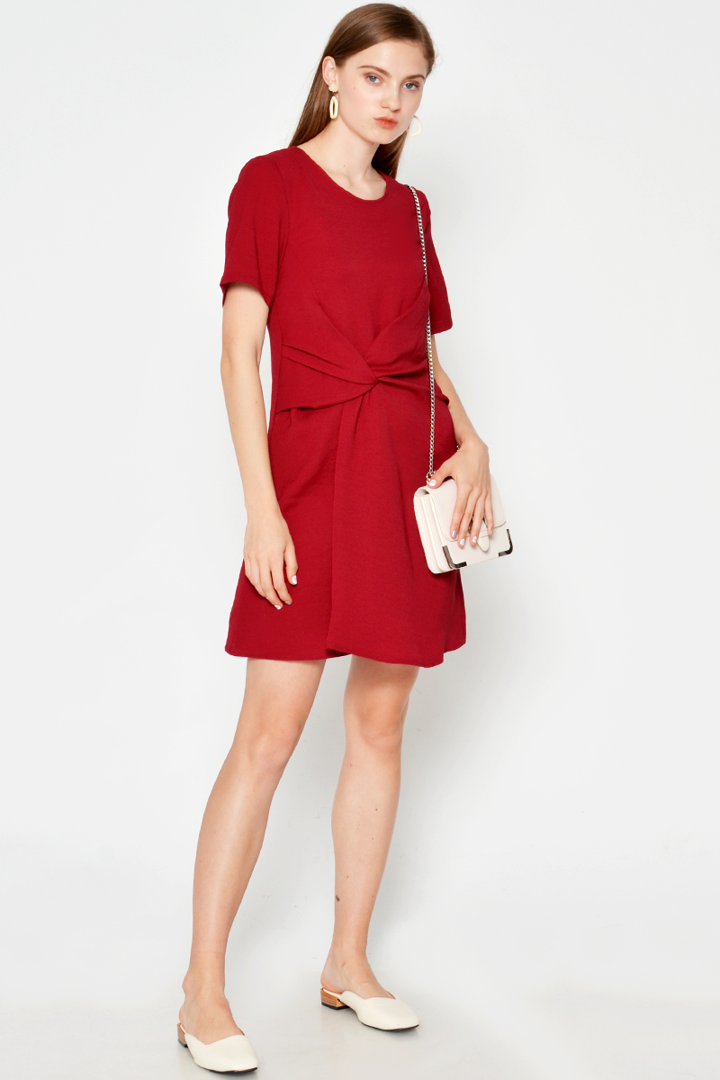 JULEEN TWISTED KNOT DRESS