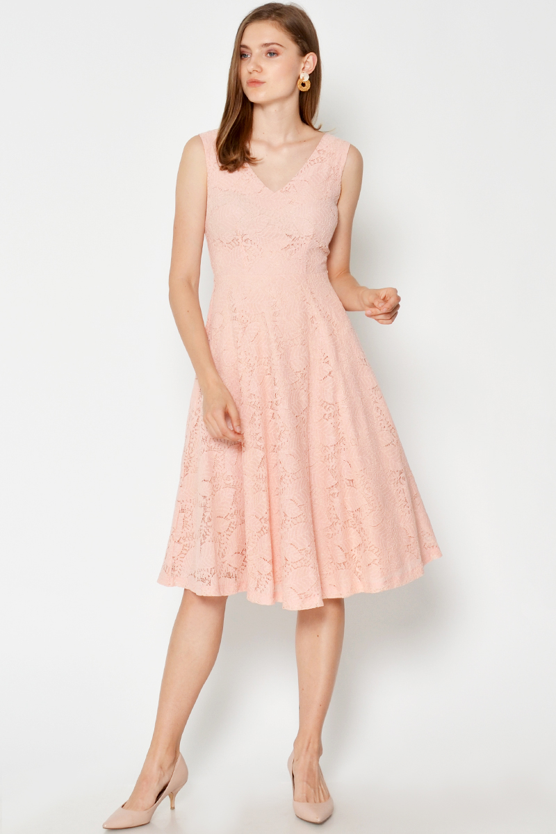 SERINA LACE SWING DRESS