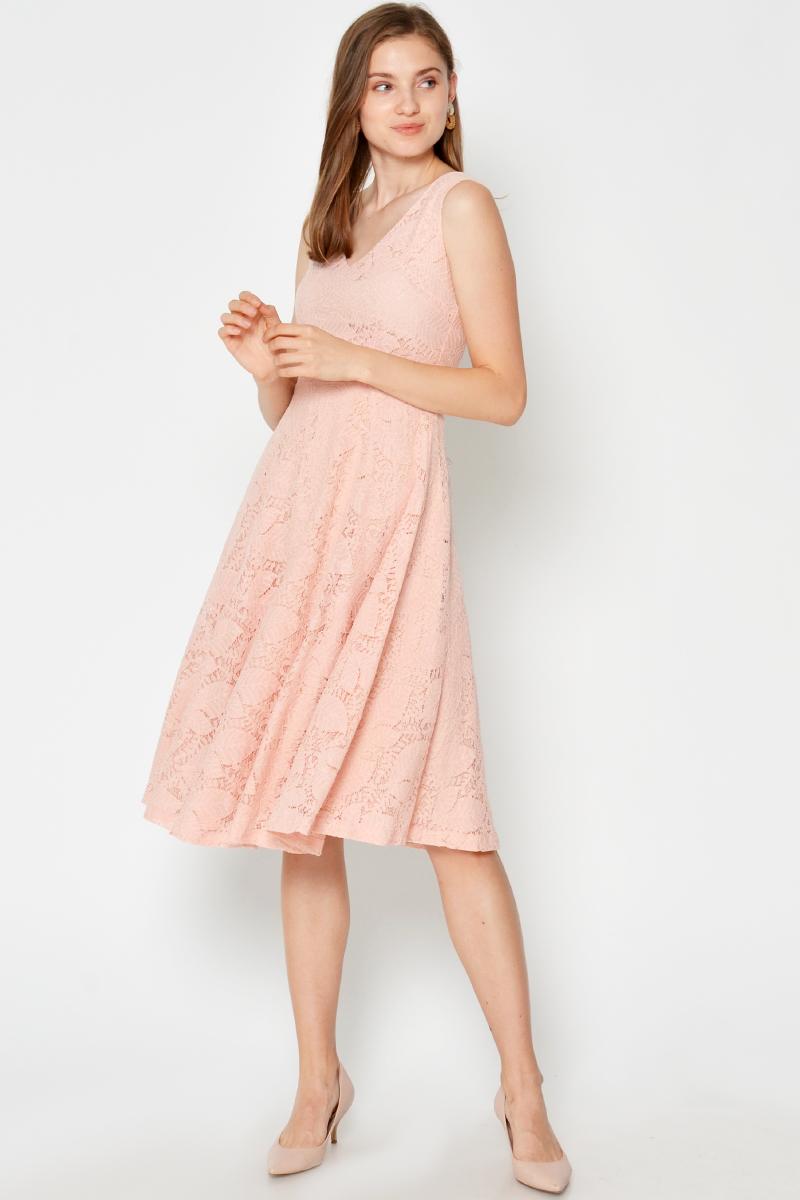 SERINA LACE SWING DRESS