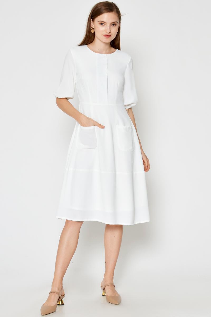 SAIDA FRONT POCKET DRESS