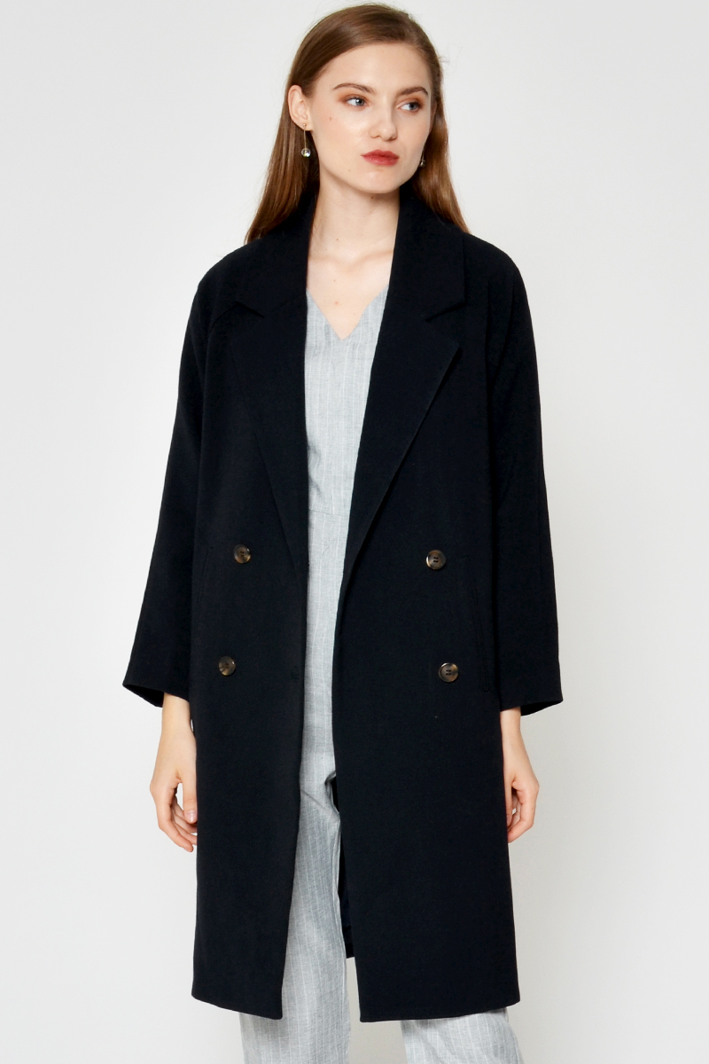 *BACKORDER 2* CABRIE LAPEL COAT