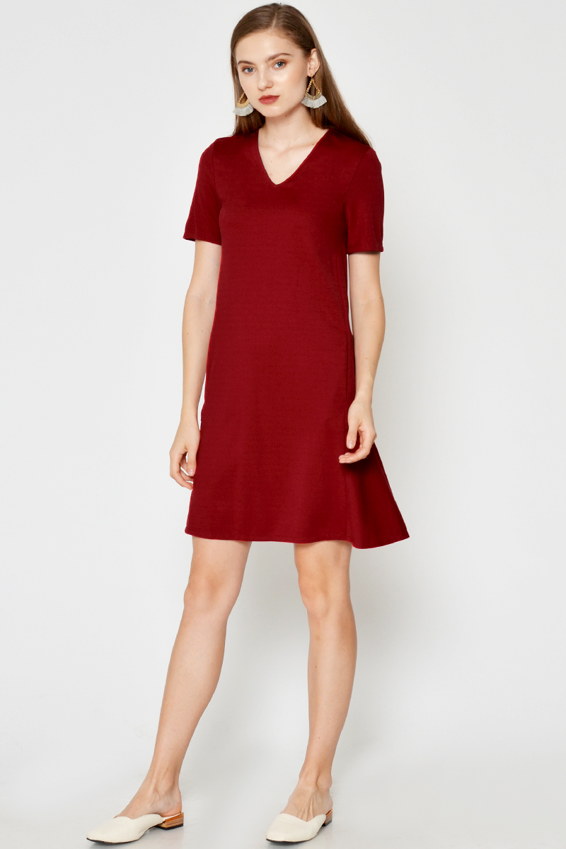 JENNA BACK DROPWAIST DRESS