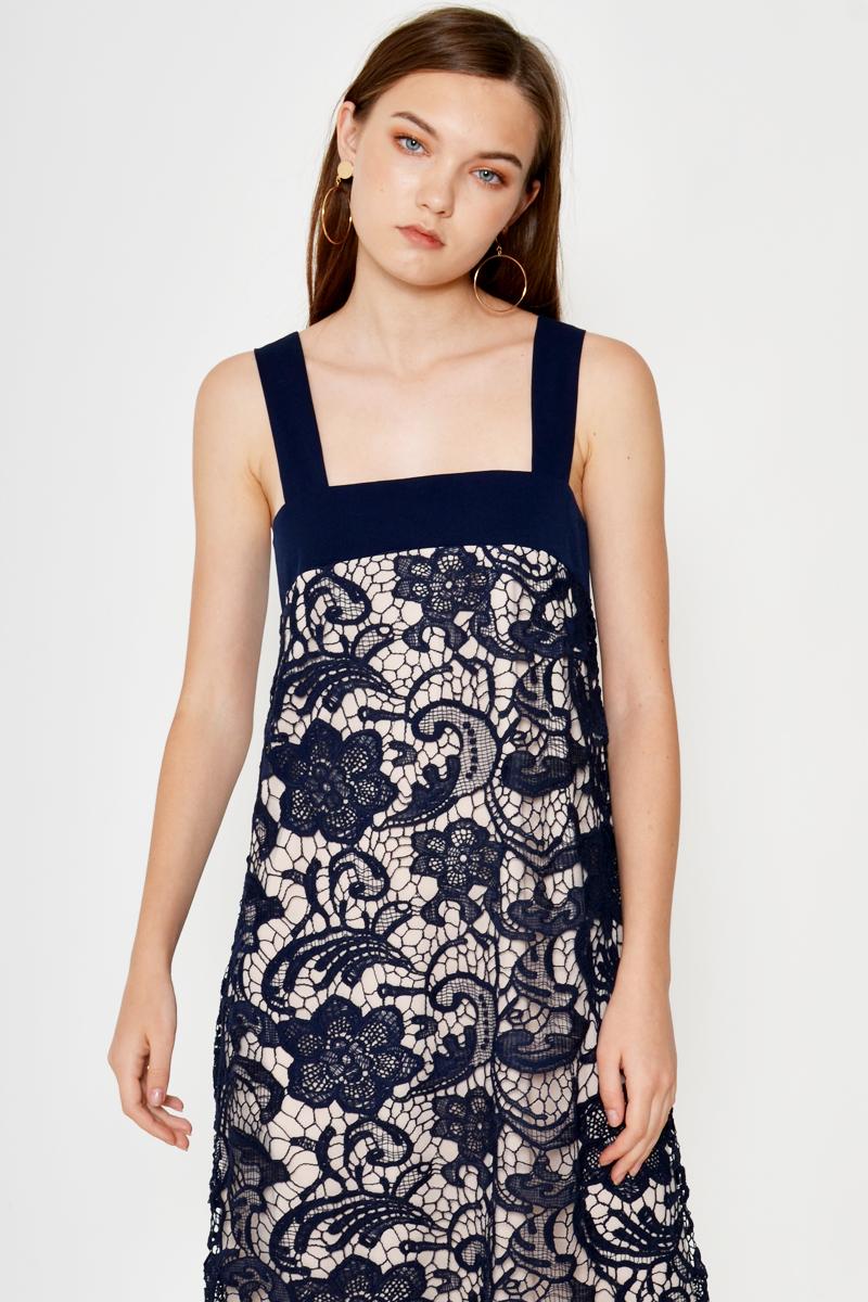 DARLENE CROCHET DRESS