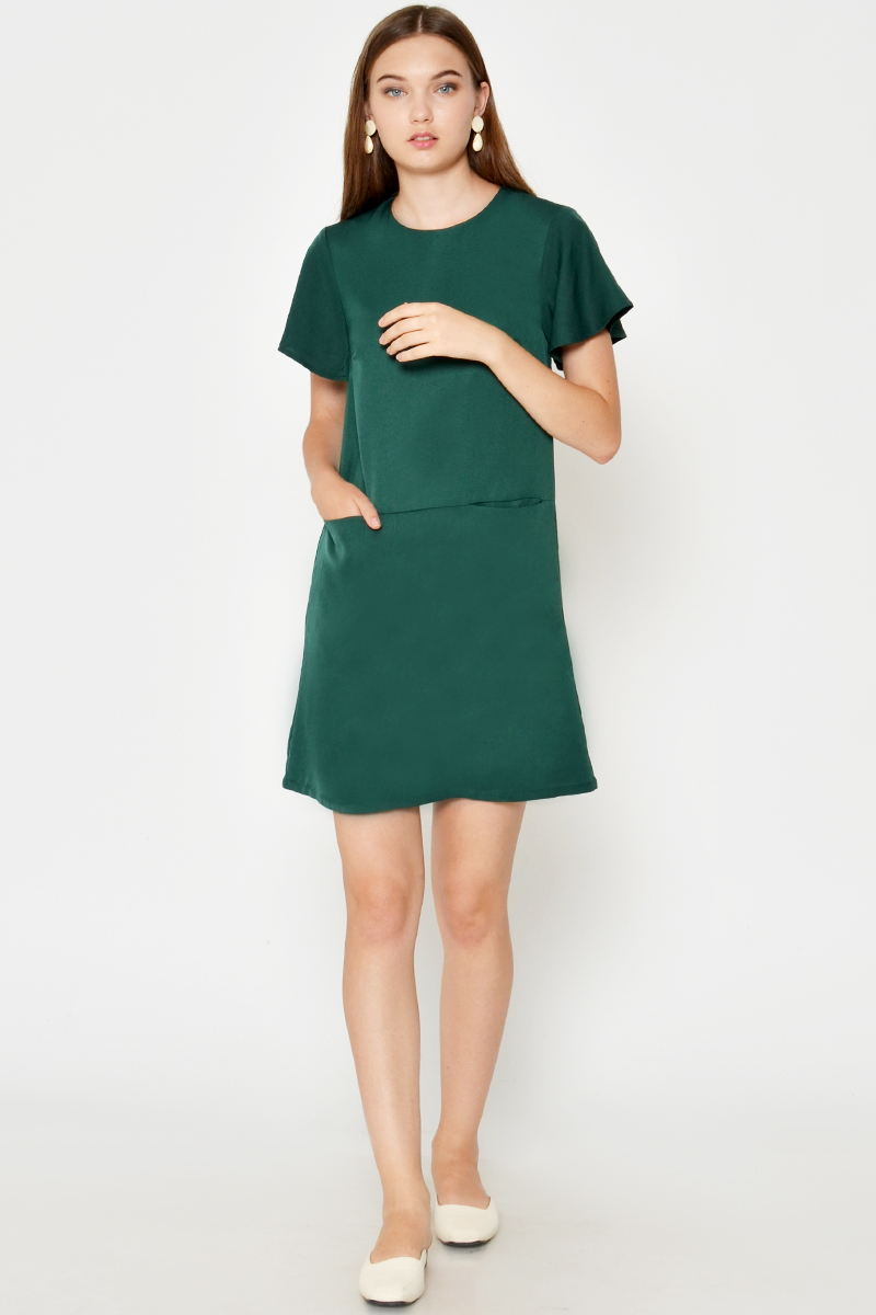 METTA FRONT POCKET DRESS