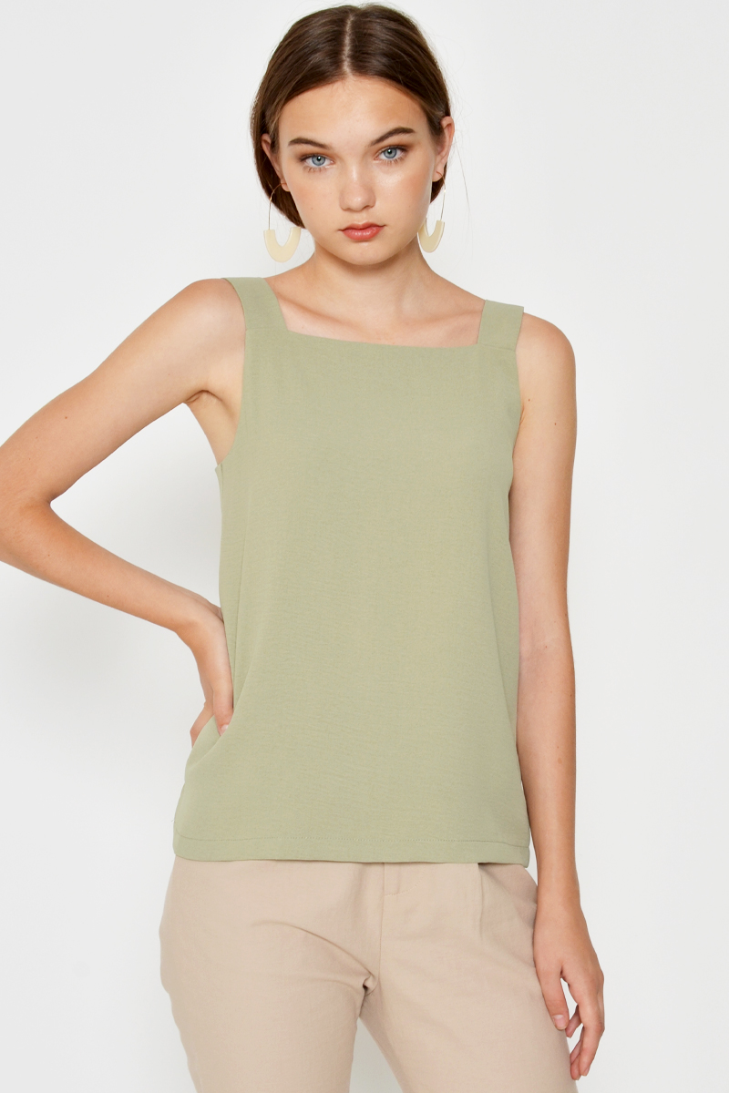 DESI SQUARE NECK TOP