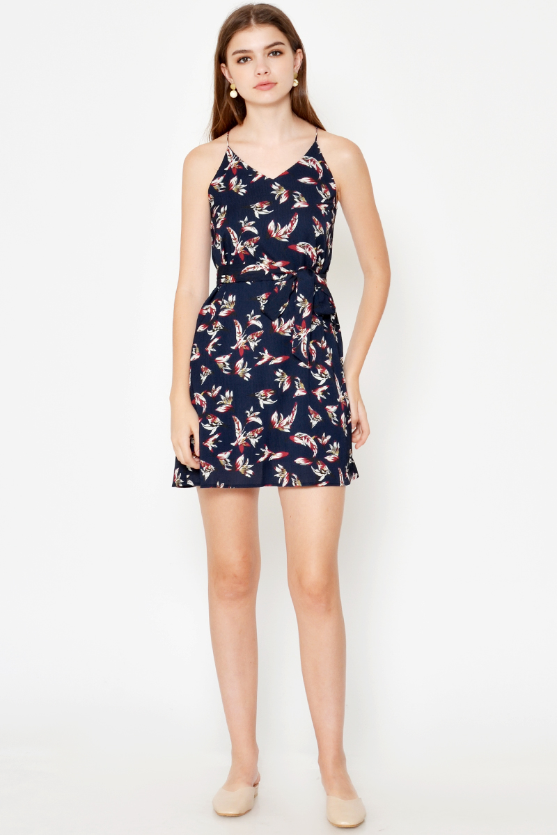 ETHEL PRINTED DRESS