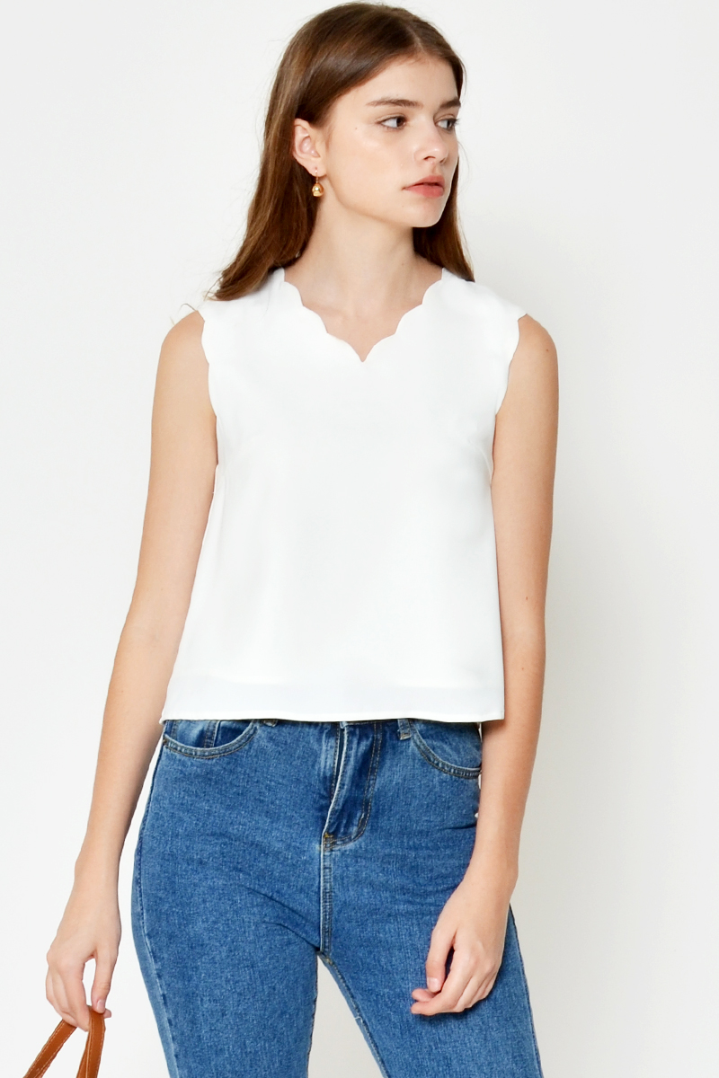 KAIGAN SCALLOP TOP