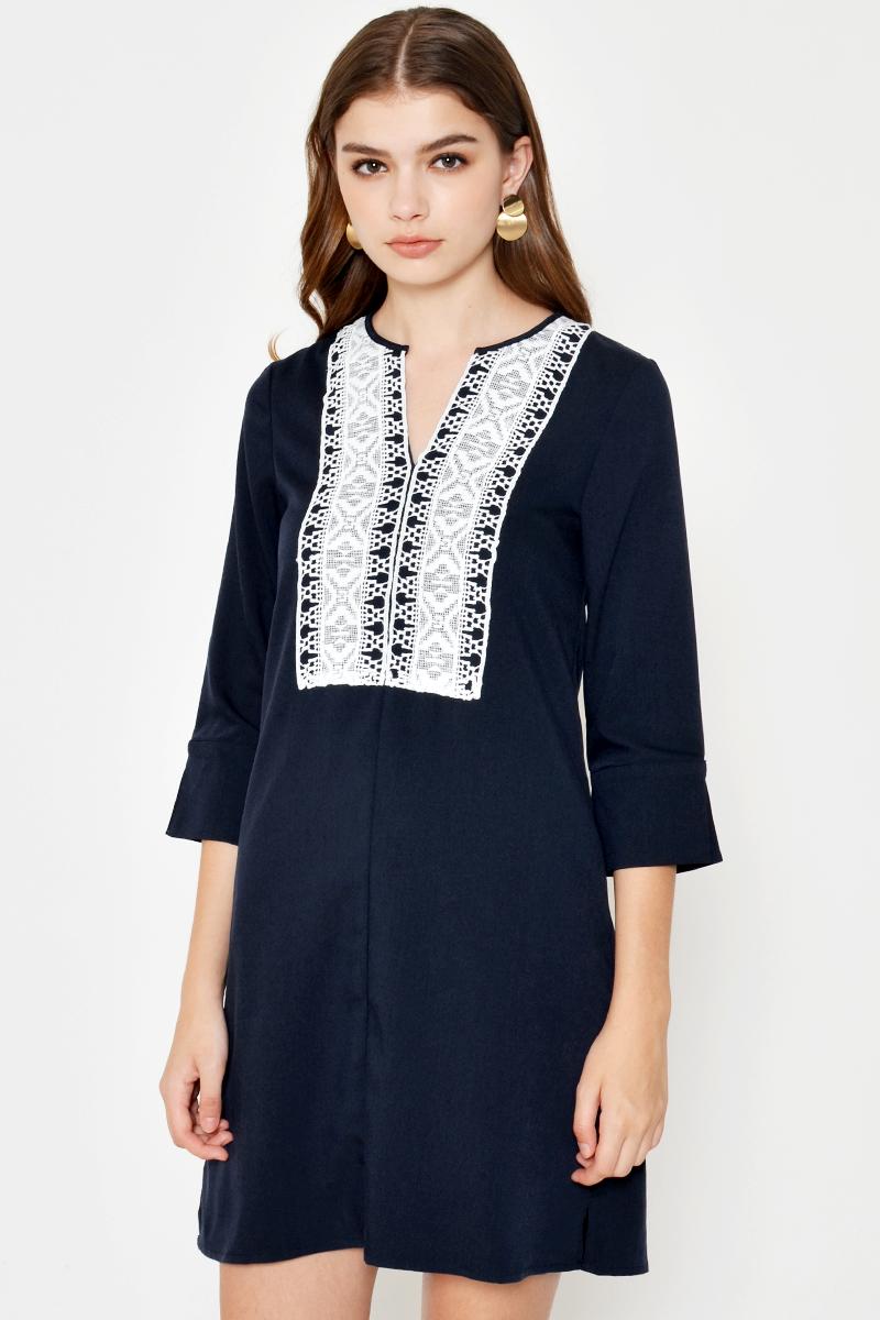 ZANDRA EMBROIDERED DRESS