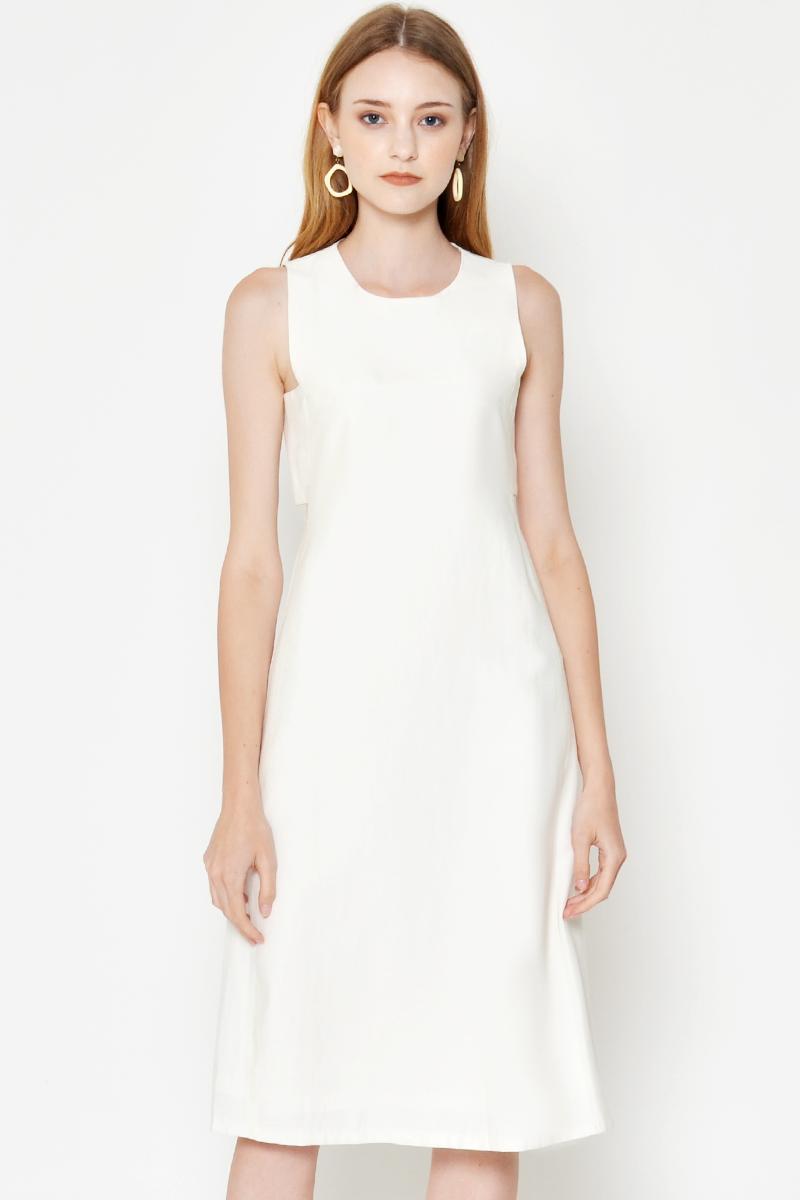 ASHER SIDE CUTOUT DRESS
