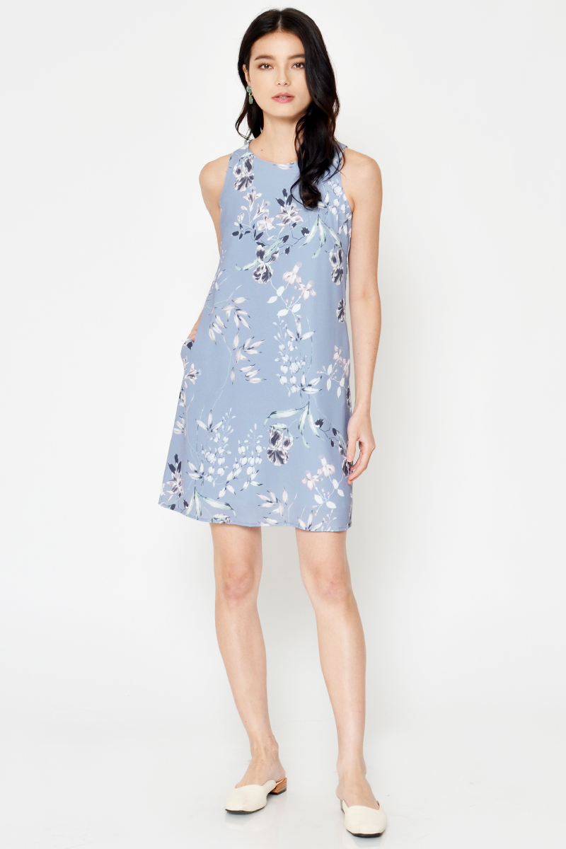 NOLIA FLORAL SHIFT DRESS