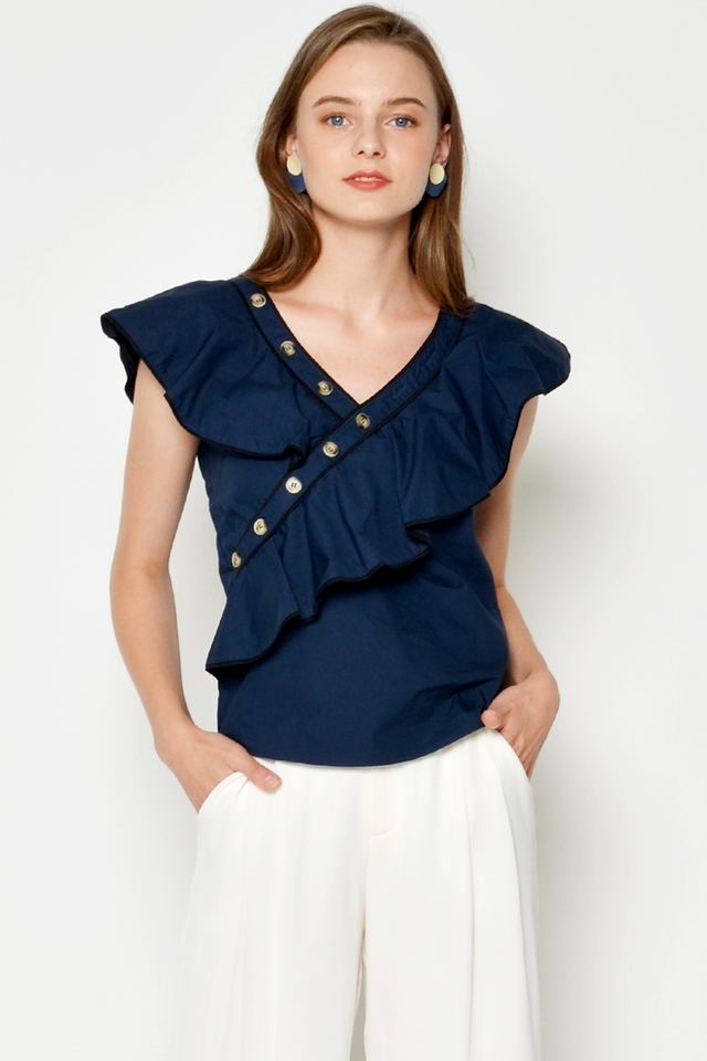 KIMMY RUFFLE TOP
