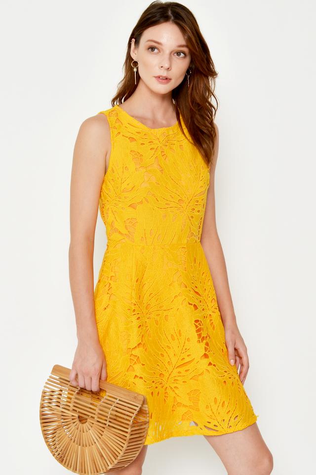 ANDIRA CUTOUT CROCHET DRESS