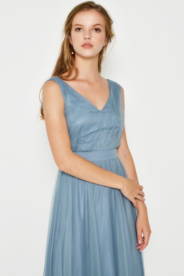 GITHA TULLE MAXI DRESS