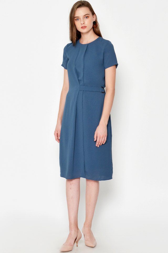 CLIFTON BELTED DRESS