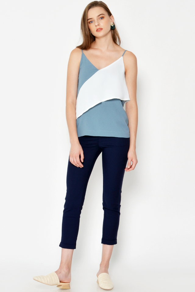 LIAM COLOURBLOCK LAYERED CAMI
