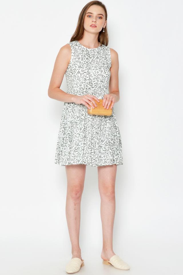 MOLYNN FLORAL BABYDOLL DRESS