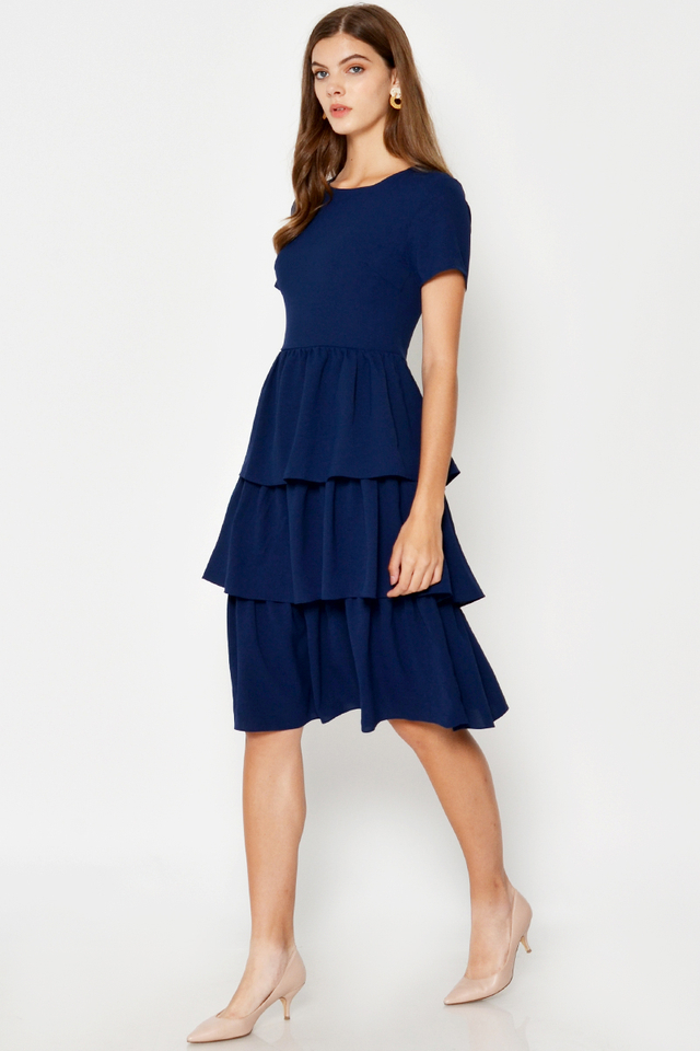 CECE TIERED DRESS