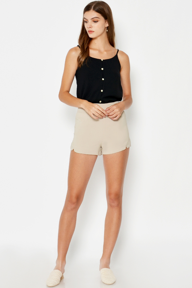 BROOKE CUTOUT SHORTS