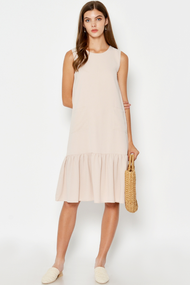 ESTEE POCKET DROPWAIST DRESS