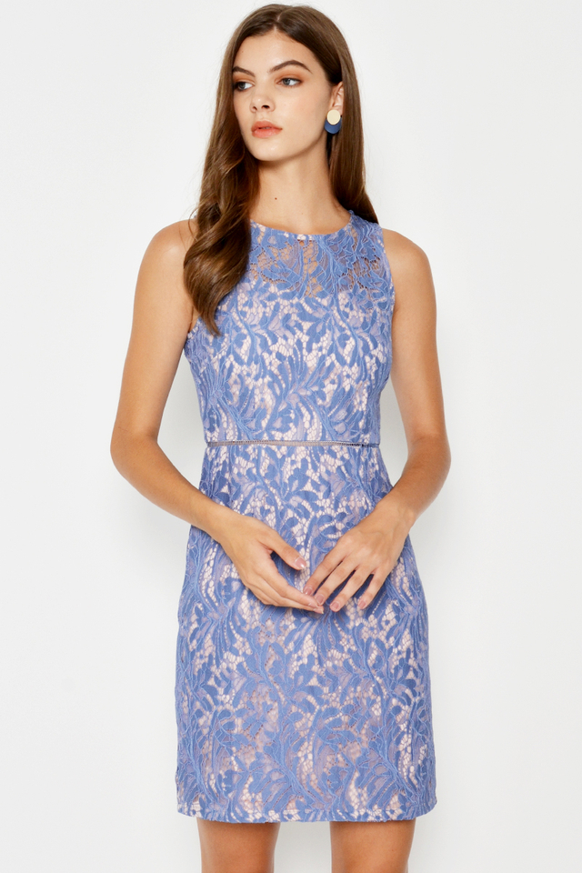 NOELIA LACE SHEATH DRESS
