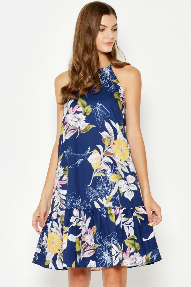 RAYLYN FLORAL DROPWAIST DRESS