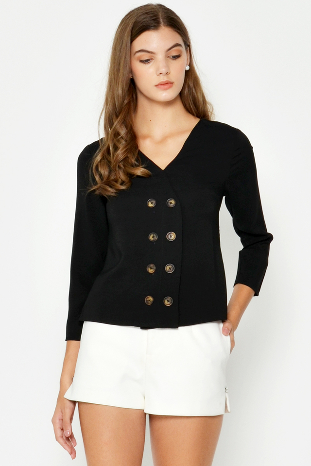 TASMIN BUTTON TOP