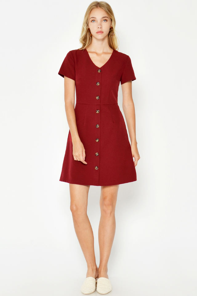 MARLENE BUTTONDOWN DRESS