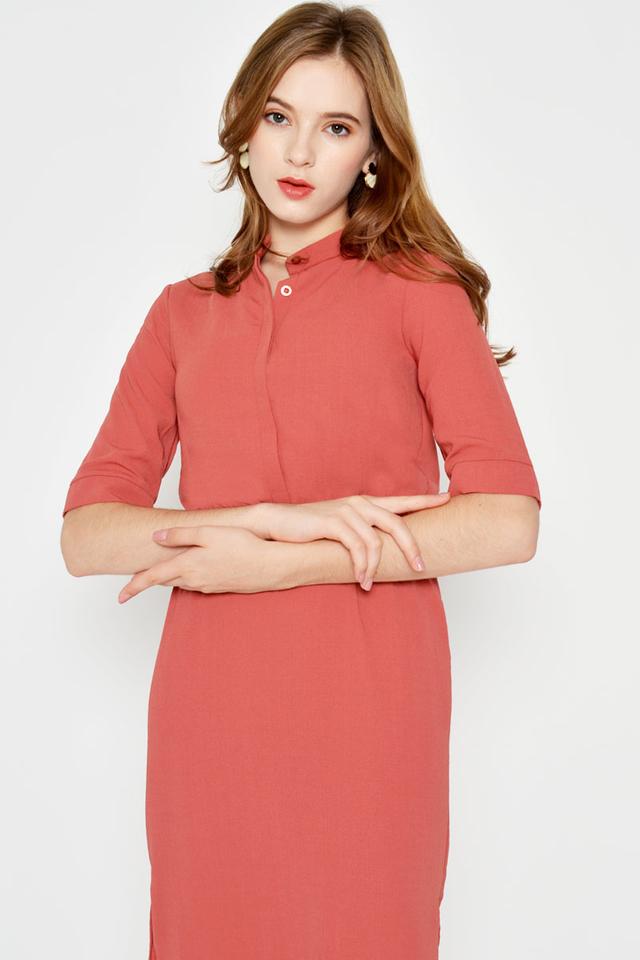 VALERIA MIDI SHIRT DRESS