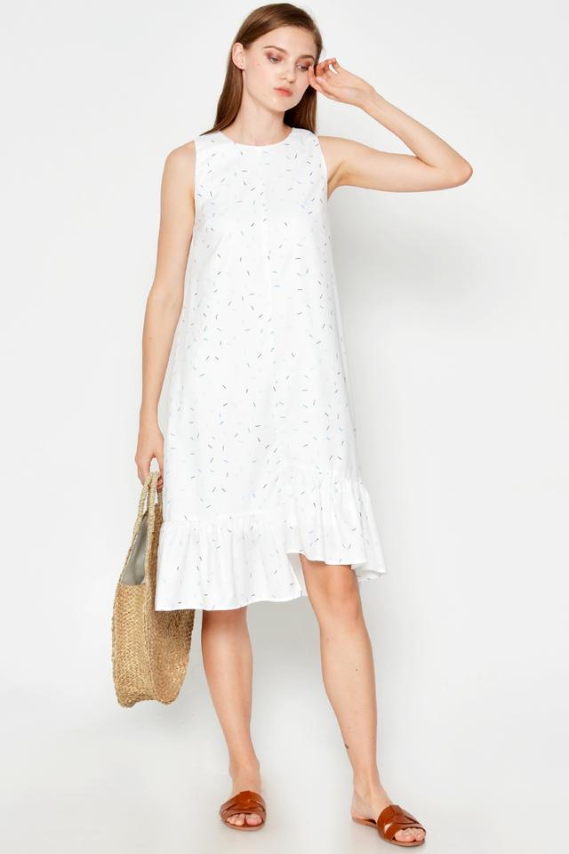 ARYA CONFETTI HIGH-LOW DRESS
