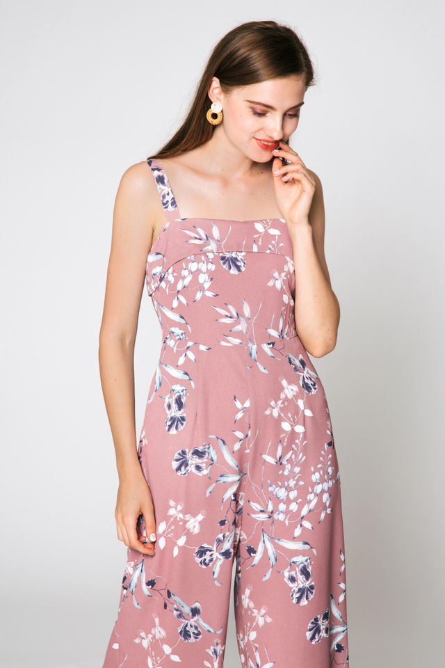 BETHANY FLORAL JUMPSUIT