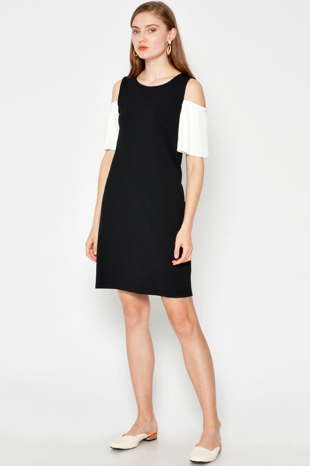 PRESLEY COLD SHOULDER DRESS