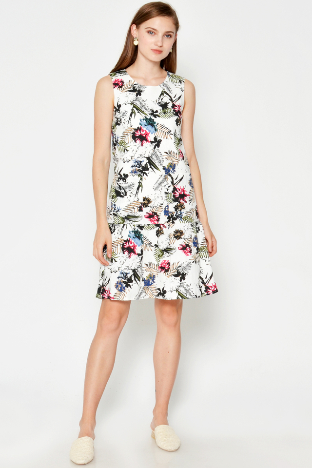 TRENTON BOTANICAL POCKET DRESS