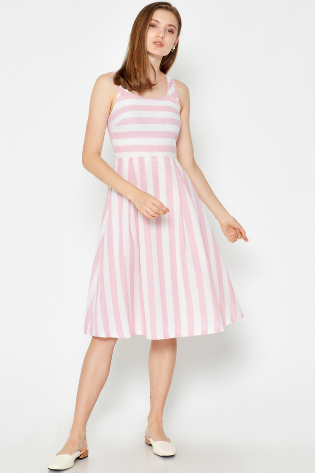 AVILA SWEETHEART FLARE DRESS