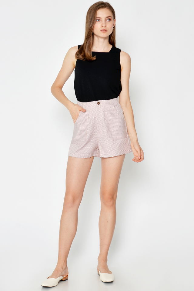 ELLICIA HOUNDSTOOTH SHORTS