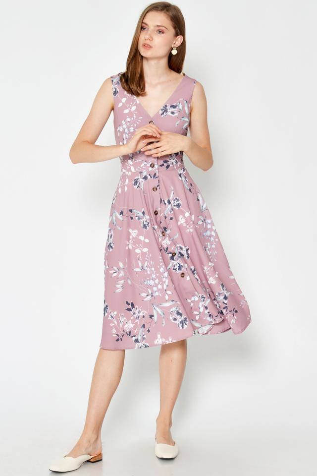 KIERRA FLORAL SWING DRESS