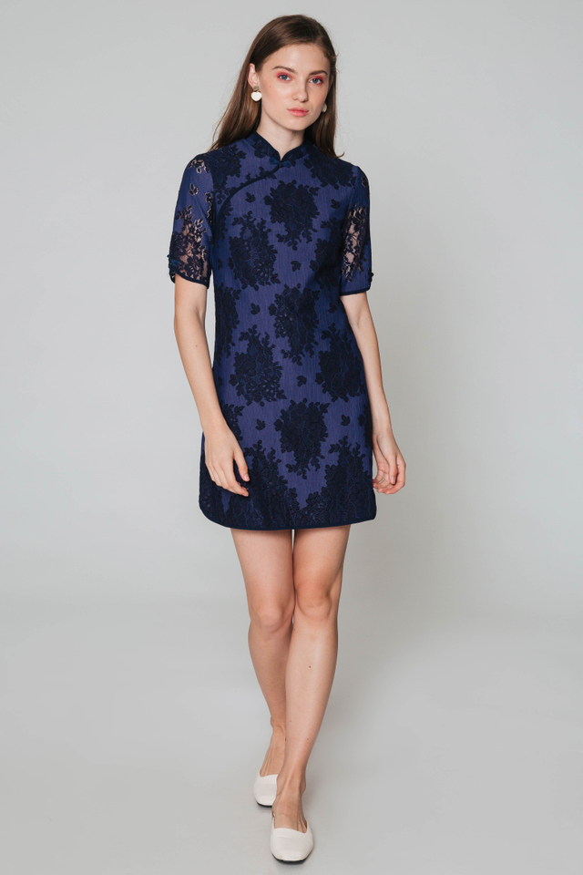 CAREEN LACE CHEONGSAM