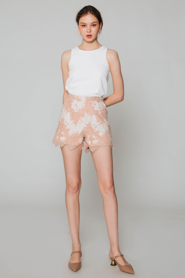 EVERETT LACE SHORTS
