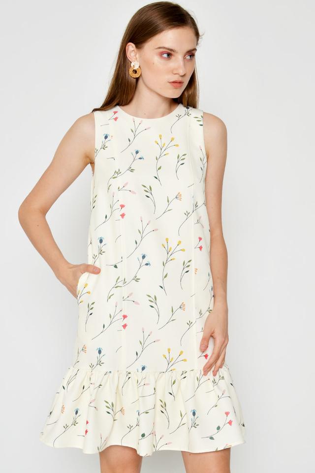 GALENA FLORAL DROPWAIST DRESS