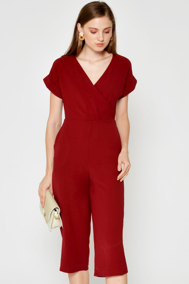 MIKO WRAP JUMPSUIT