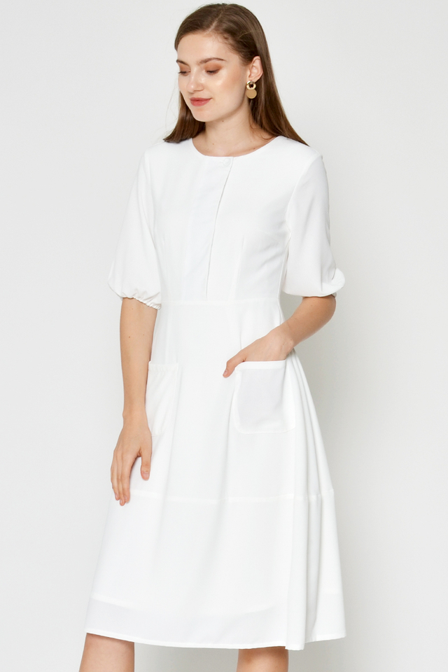 SAIDA FRONT POCKET DRESS