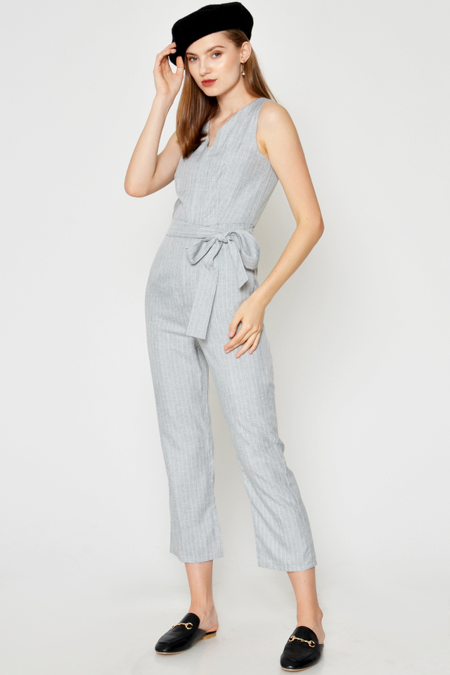 LERAY JUMPSUIT W SASH