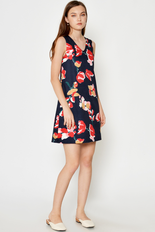 SABREA FLORAL SHIFT DRESS