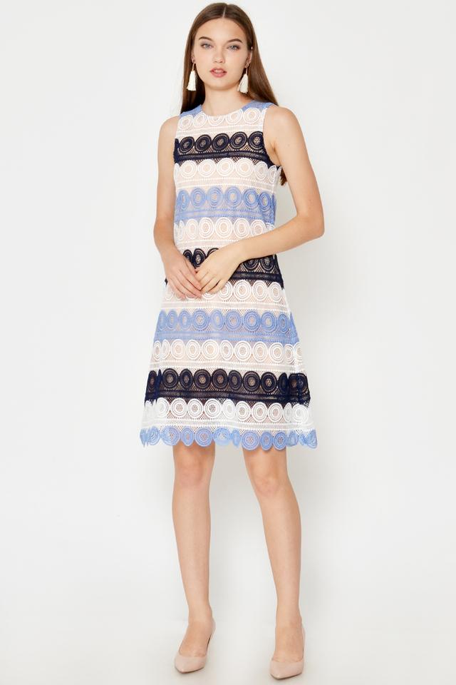 LAUREN CROCHET SHIFT DRESS