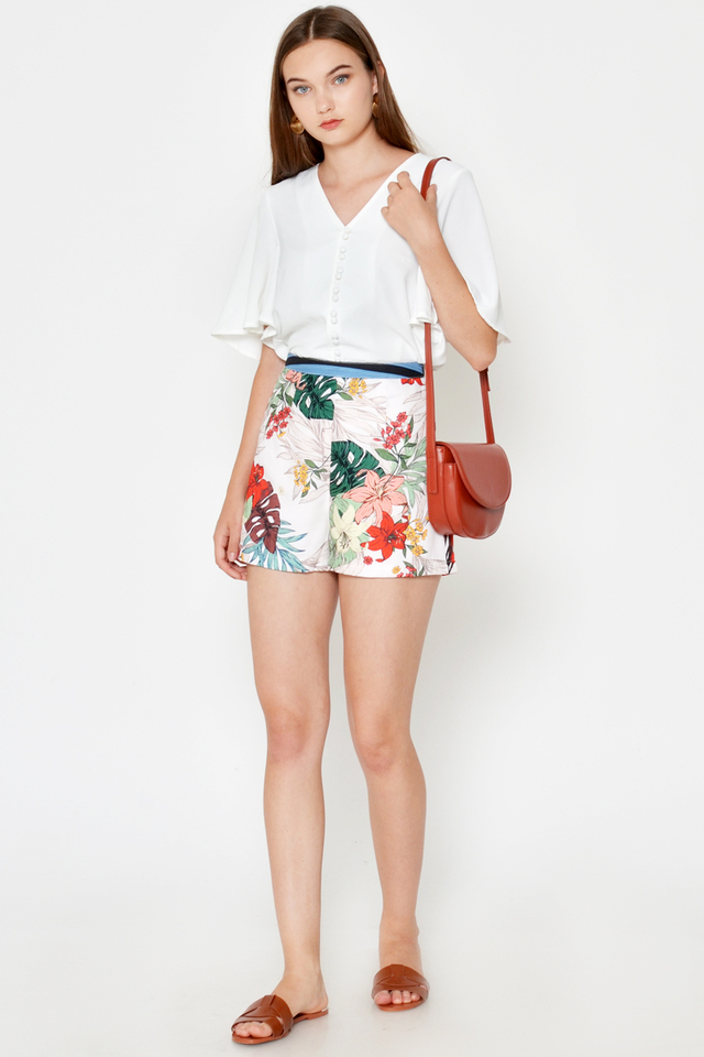 PRELIA FLORAL HIGHWAIST SHORTS