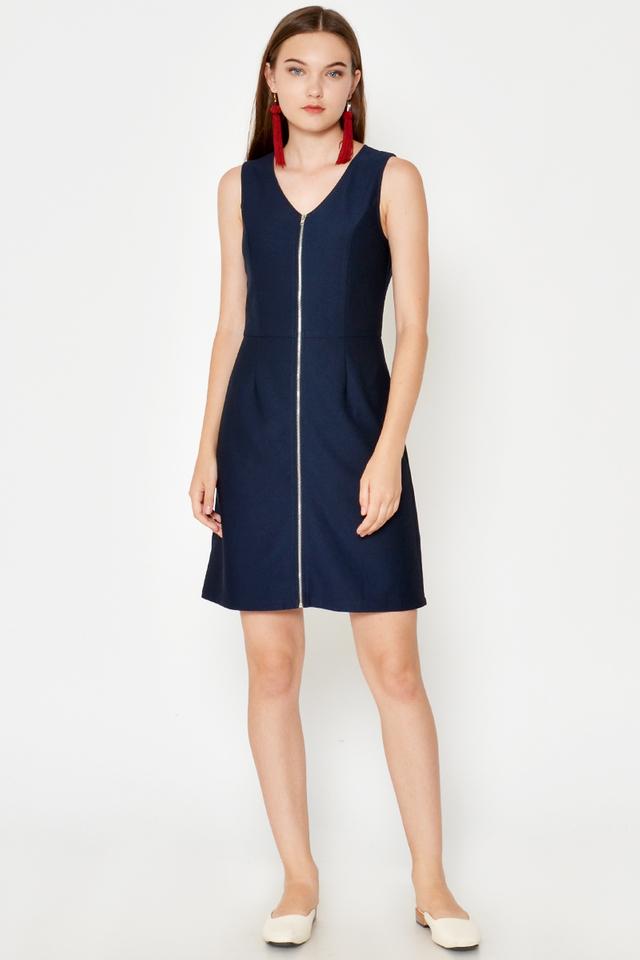 SHONA ZIP DRESS